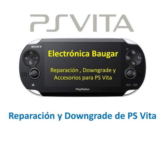Reparación-Downgrade-PS-VITA Getafe