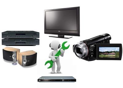 Reparacion Audio DVD Videocamaras HiFi Getafe