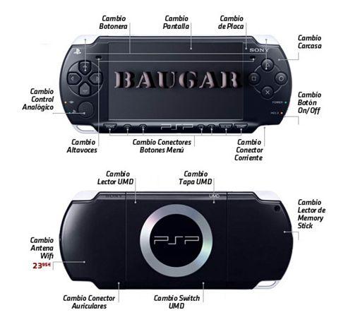 Reparacion PSP  Getafe Todas las versiones y downgrade Baugar