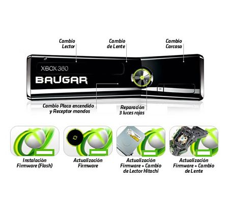 Reparacion xbox 360 Getafe Baugar