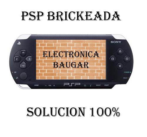 Reparar PSP Brickeada Getafe Todas las versiones Baugar