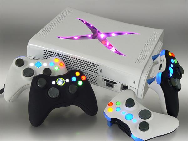 Tunning consola XBOX Getafe  multicolor 1