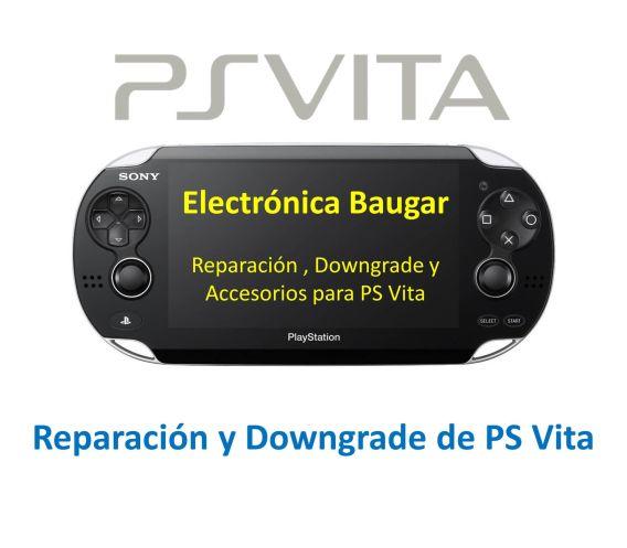 Reparación-Downgrade-PS-VITA Getafe