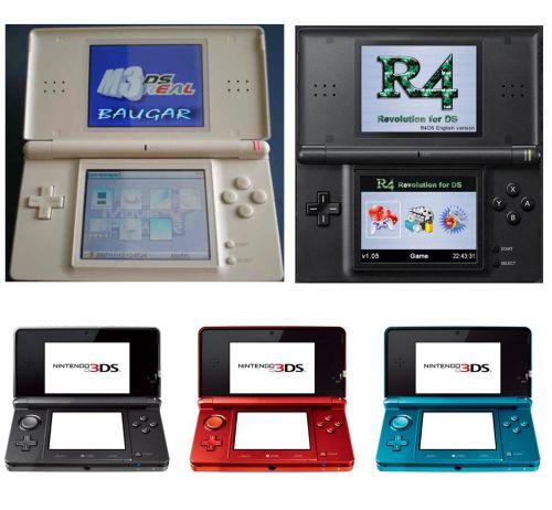 Reparación Nintendo DS y 3DS Getafe Madrid Baugar 1