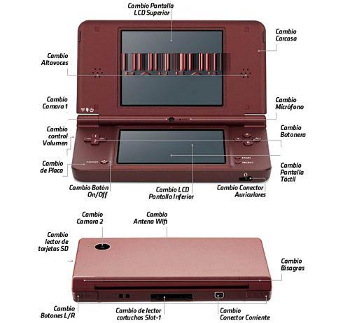 Reparación Nintendo DS y 3DS Getafe Madrid reparacion Consola Nintendo